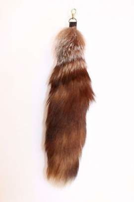 Genuine Fox Fur Pendant