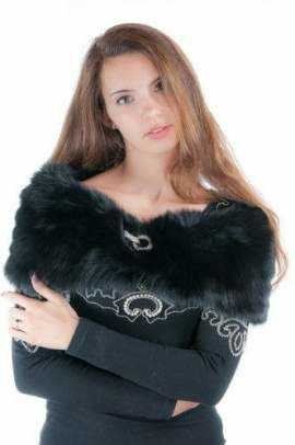 Genuine Fox Fur Stole