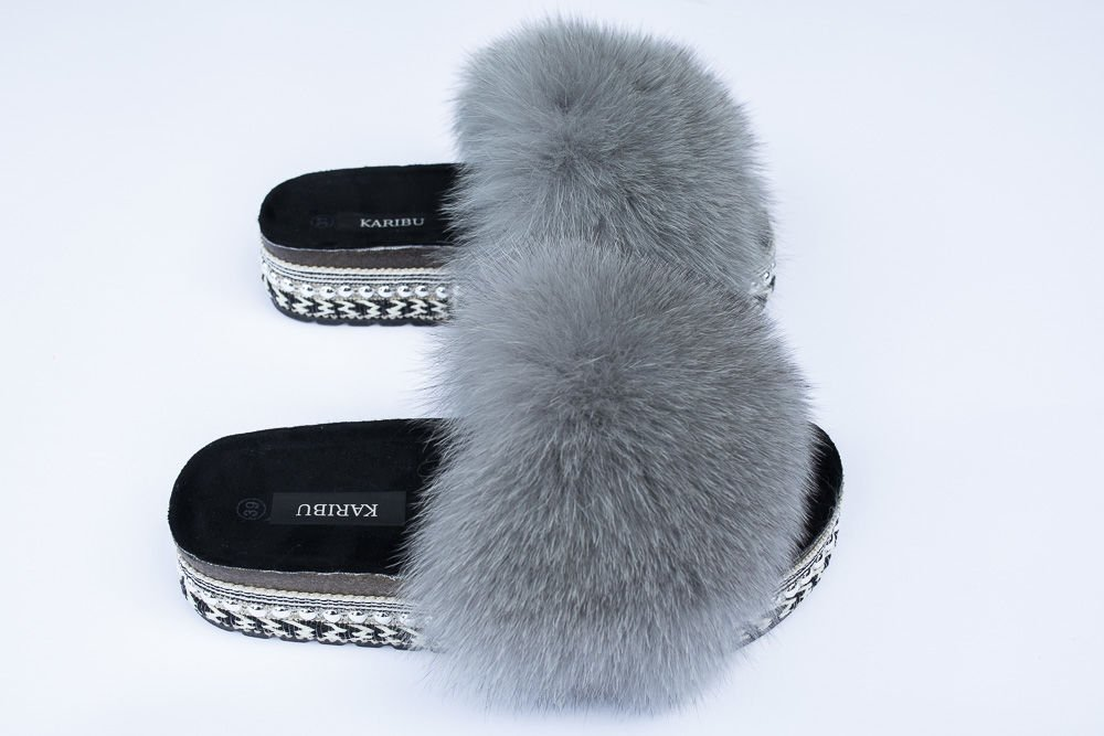 best price promo code coupon codes Top Fur Slides, Sandals with Pink and Beige Fur | FUR SLIDES ...